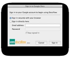 DocsFlow login