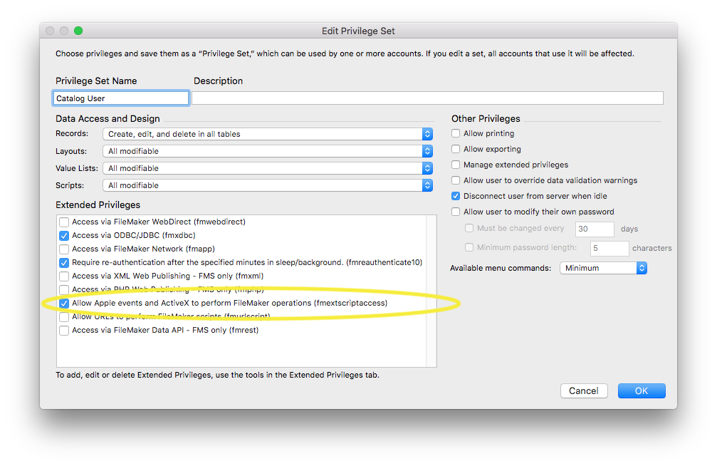 Connecting with FileMaker Pro 16 » Em Software